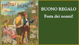 BUONO REGALO FESTA DEI NONNI (fuori campo IVA art. 2 DPR 633/72)