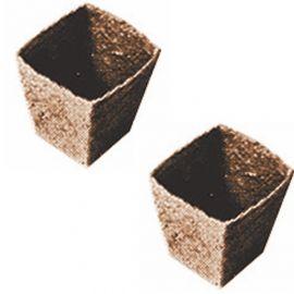 VASI DI TORBA JIFFY per semina e trapianto -Mod. 230 - cm. 8x8