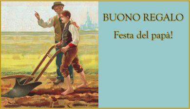BUONO REGALO FESTA DEL PAPA' (fuori campo IVA art. 2 DPR 633/72)