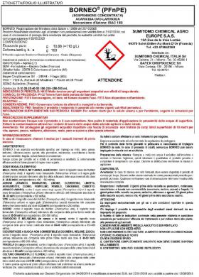 BORNEO PFnPE- Acaricida